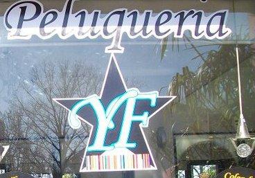 Logo Yanina Flores Peluquería