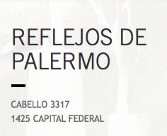 Logo Reflejos de Palermo