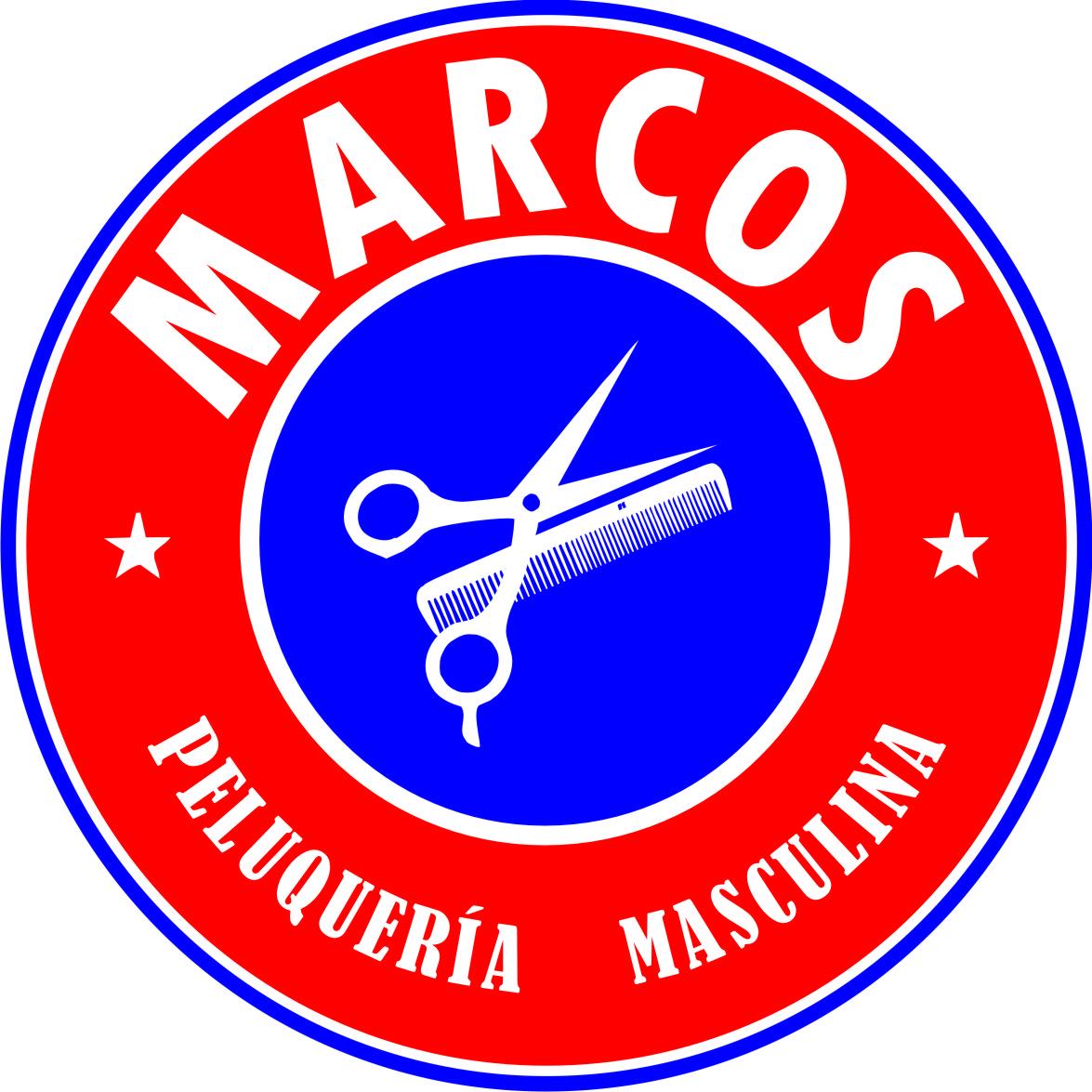 Logo Marcos Peluquería Masculina