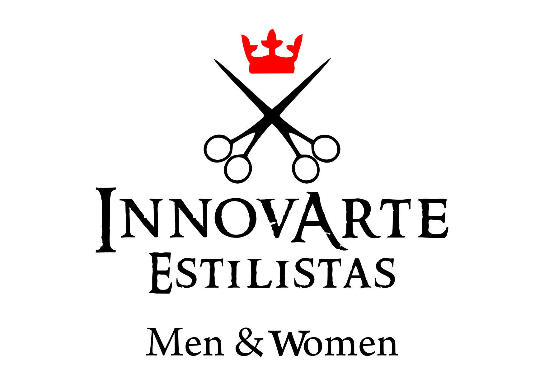 Logo InnovArte Estilistas Men & Women