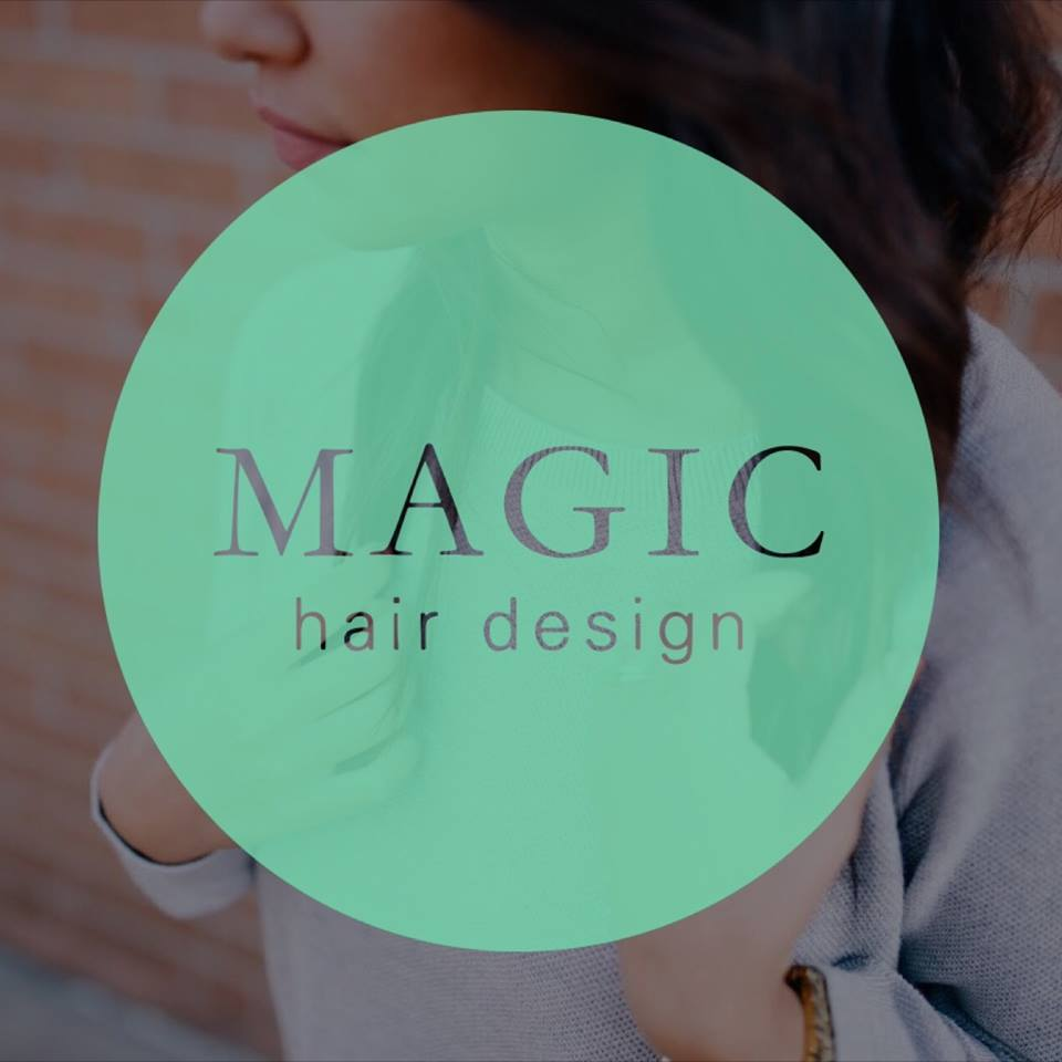 Logo Magic Hair Design Santa Bárbara
