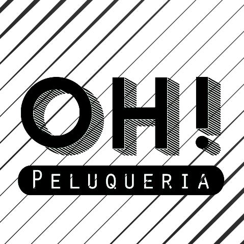 Logo OH Peluquería - Lirios del Talar