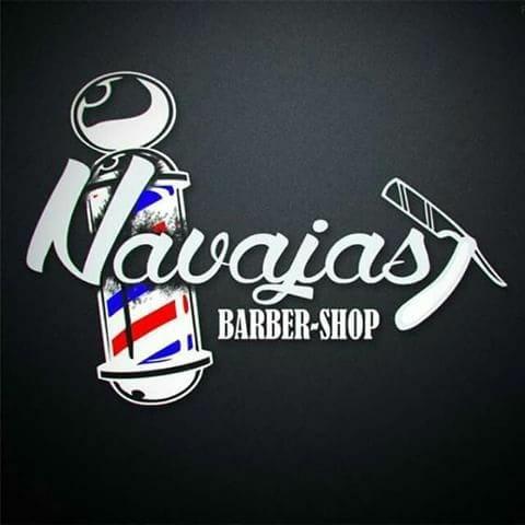 Logo Navajas Barber Shop - Villa Adelina