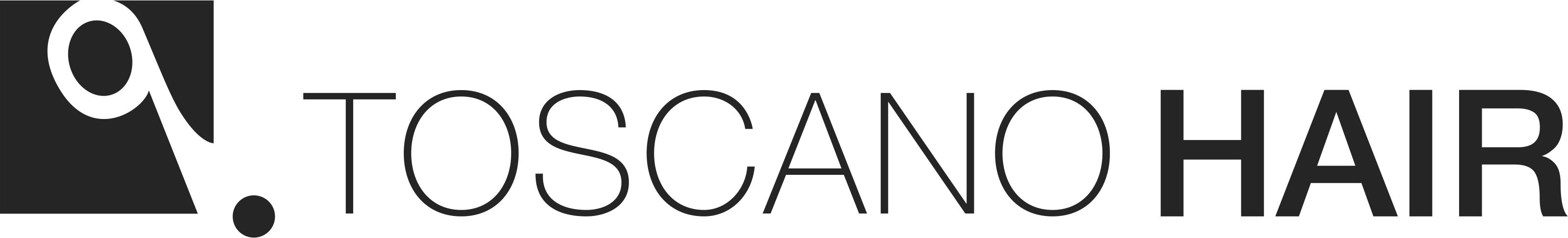 Logo Toscano Hair - Palermo