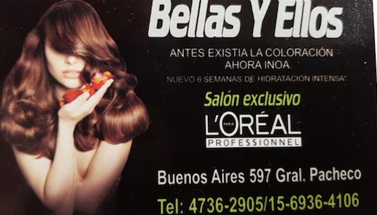 Logo Bellas y  Ellos