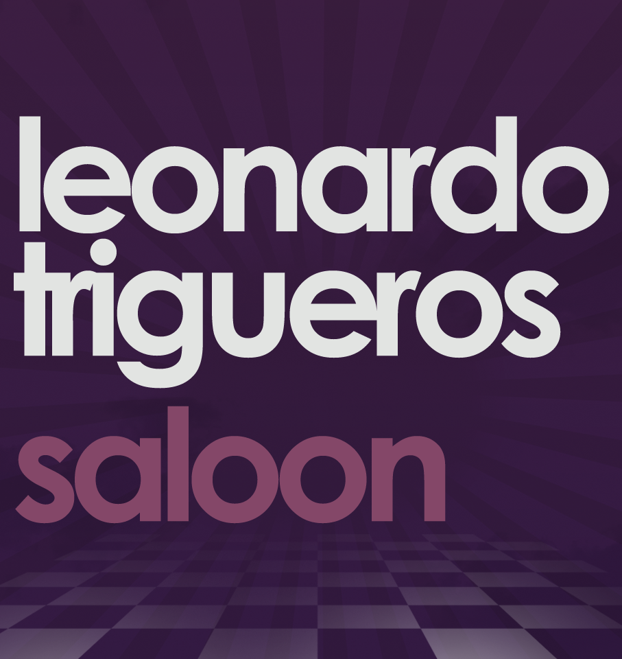 Logo Leonardo Trigueros Saloon